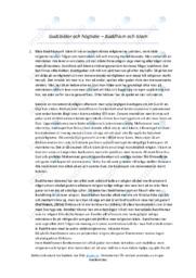 Buddhism och Islam   Uppgift   A i betyg