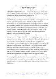 Vad är Gelelektrofores | Kemi | C i betyg