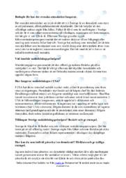 Svenska statsskicket   Uppgift   C i betyg
